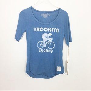 Retro Brand Brooklyn Cycling Bike Graphic Tee NWT